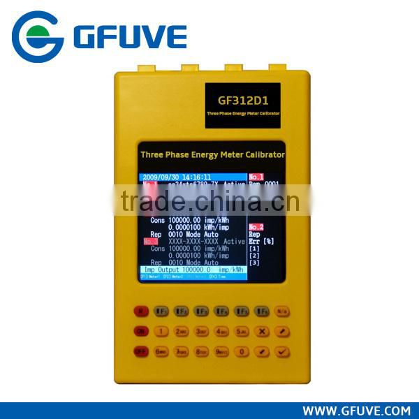 Handheld Kwh meter calibration equipment portable three phase kwh meter calibrator