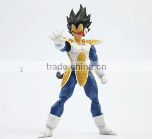 dragon ball pvc action figures,hot anime figure plastic action figure,hot japanese cartoon character action figure
