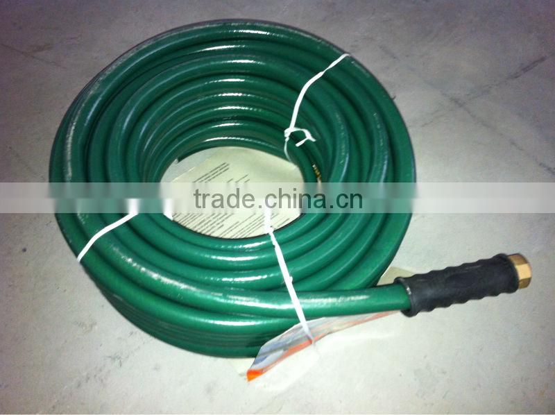"3/4"" 100ft Green PVC Water Works Garden hose reel irrigation"