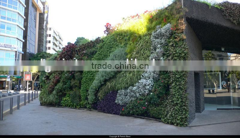 Lifelike Beautiful Artificial Plant Wall For Landscaping