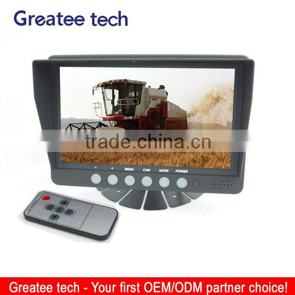 factory best 7 inch tft Car Rearview Monitor for vehicles