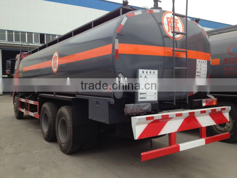 18000~25000 liters Chemical Tanker truck, 18000~25000 liters hydrochloric acid or sulphuric acid transproting truck,