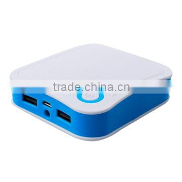 2015 Portable and Universal Square Power Bank 10400mAh power pack