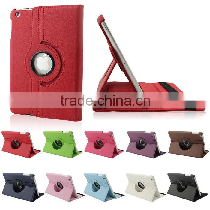 360 Rotating Magnetic PU Leather Case Cover for New iPad MINI With Screen Protector Guard and Pen