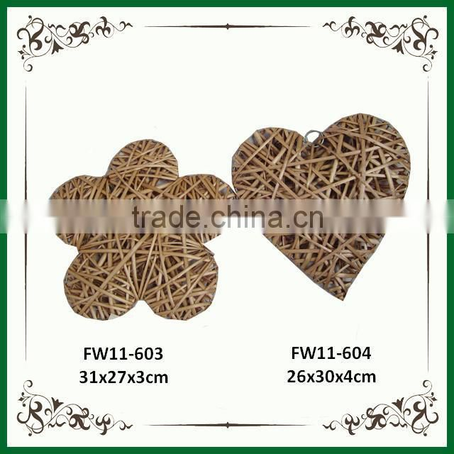 Wicker decoration,christmas ornaments