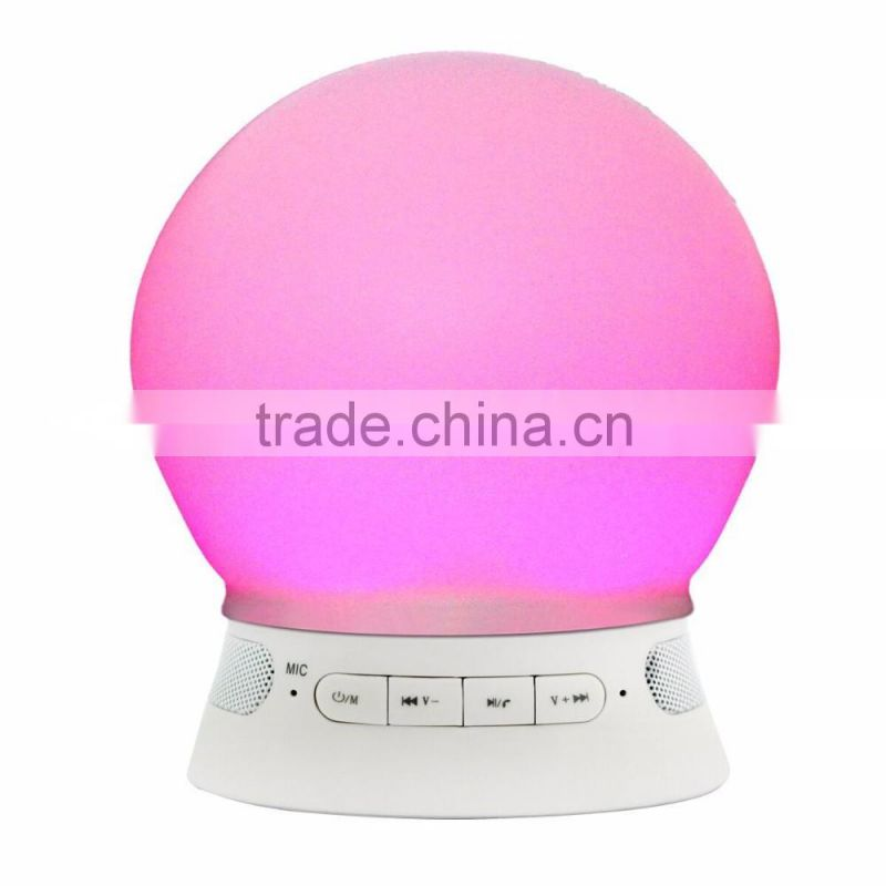 FM radio bluetooth led light bulb bluetooth speaker, bluetooth smart light led speaker