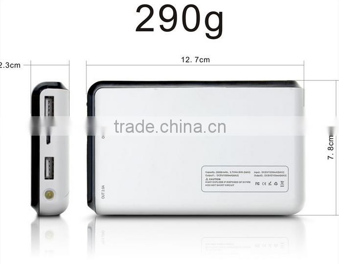 High capacity 14000 mah power bank with ce fc rohs