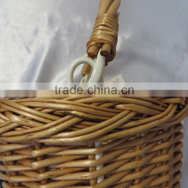 Removable bicycle basket wicker bicycle basket wicker basket bicycle
