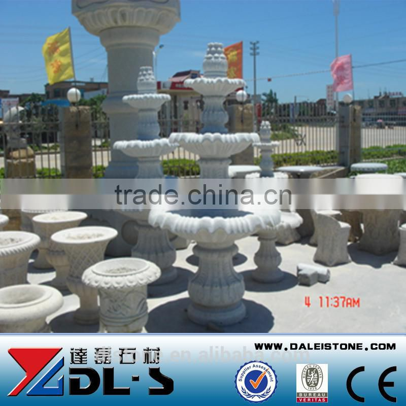 Outdoor hand carved stone fountain for park decoration