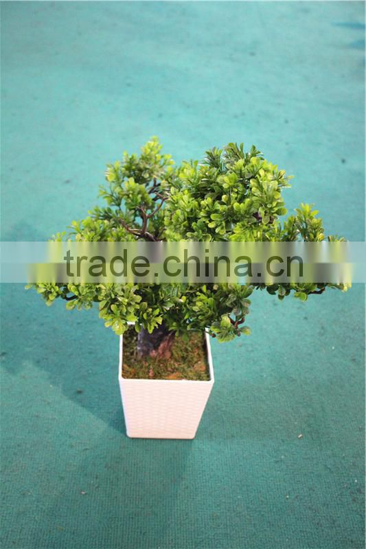Home garden decoration 50cm to 160 cm hight small indoor canadian artificial green pot plastic similar pine trees ELSPZ02 0901