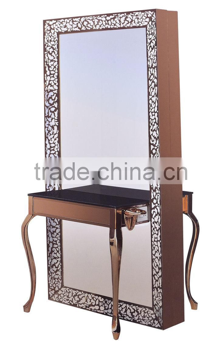 2015 Ningbo HONGZI Contemporary style LED salon mirror