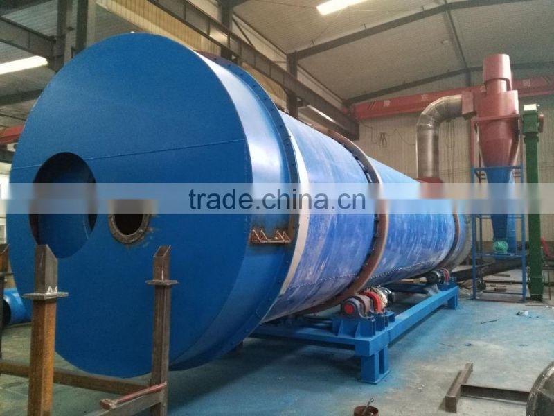 Turnkey Service Rotary Drum Type Sweet Potato Residue Dryer!