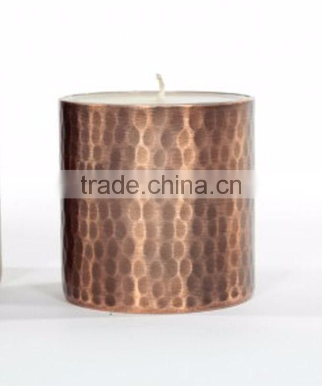 copper muge candle tin for sale