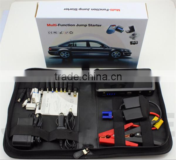 USB Charger 12v Emergency Car Jump Starter 12000mah