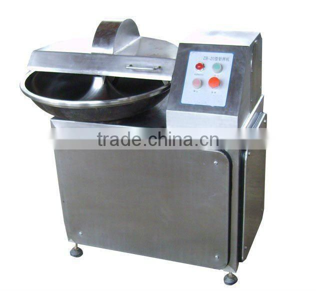 Small Meat Bowl Cutter Machine
