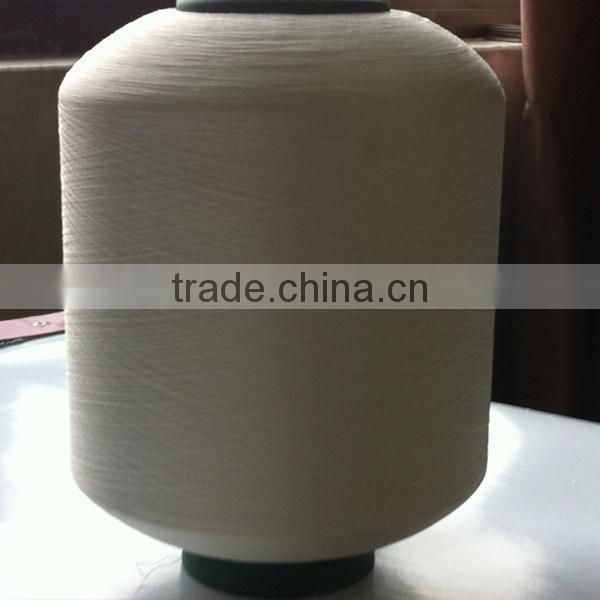 Raw white covered spandex yarn 2075/3075/4075 ACY for knitting