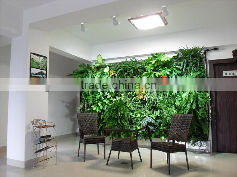 durable and high destiny vertical green wall system fake plant wall