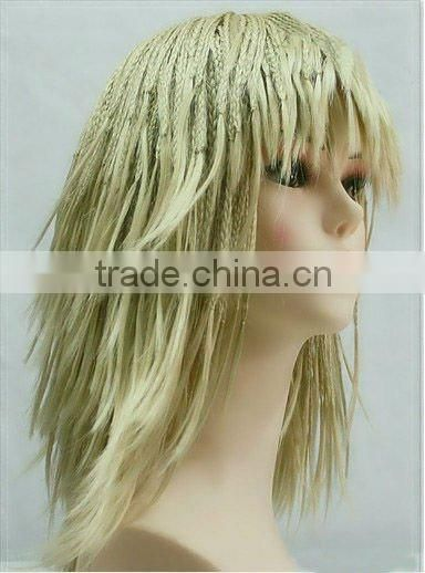 braided lace wigs synthetic fashionable braided wigs party wig