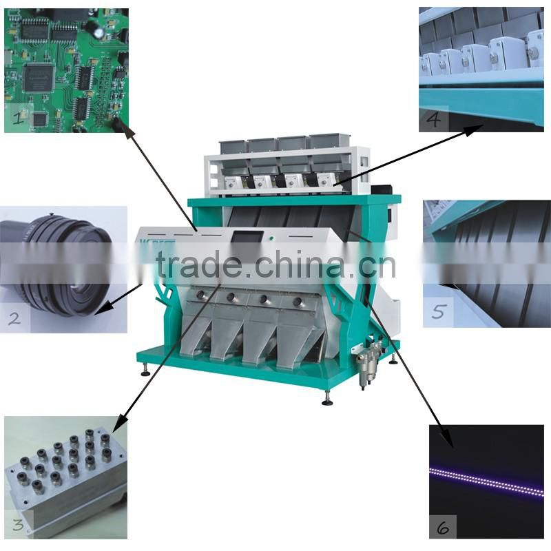 Professional CCD Industrial Color Sorter For Quatz Sand Sorting