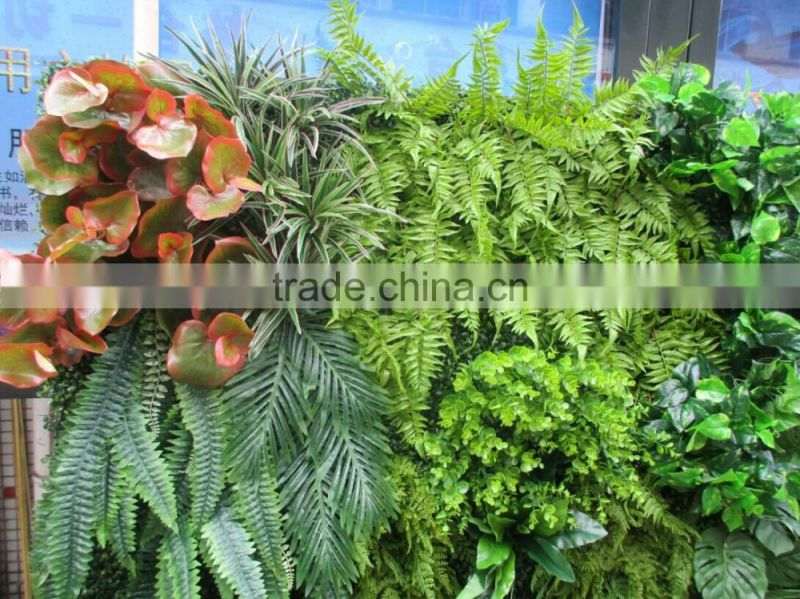 plastic green wall for living room decoration,mini green wall interior decoration