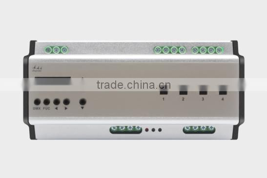 4 CH 20A EXP Rail led Switch Controller DMX 512 Control System