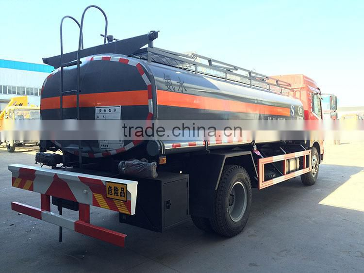 chemical liquid tanktruck