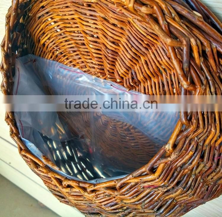 Natural rattan wicker woven hanging basket wholesale