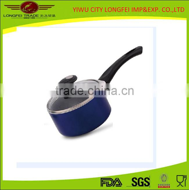 14cm Aluminum Tensile Milk Warmer Pot