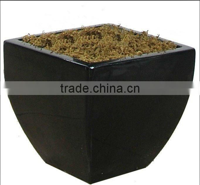 2012 new design Fiber glass flower pot