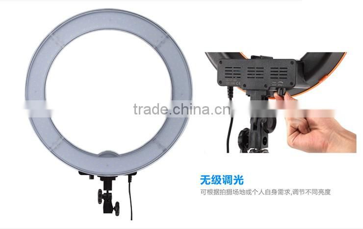 "Camera Photo/Video 18"" 600W 5500K Dimmable Ring Fluorescent Flash Light"