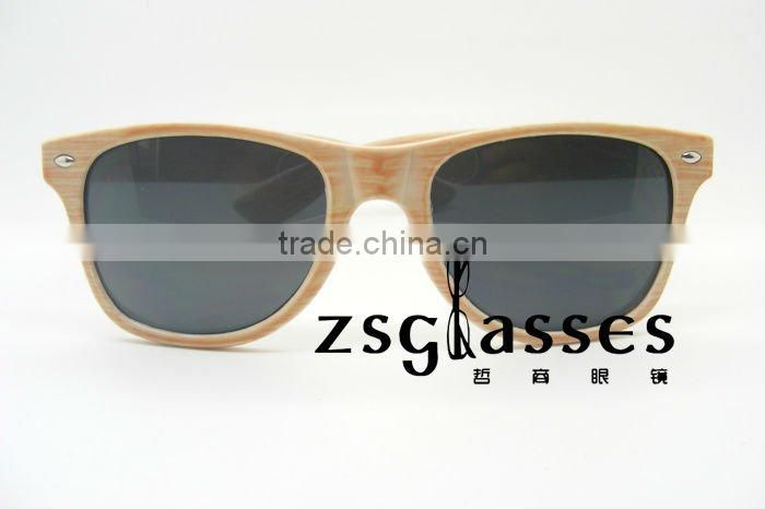 Cheap Promotion frame/Sunglasses/eyewear Factory Custom Lens full color mirror sunglasses printing logo OEM