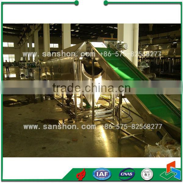 Fruits Vegetables Processing IQF Fruit Production Line