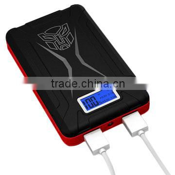 Wholesale 10400mAh transformer power bank with OEM &ODM service