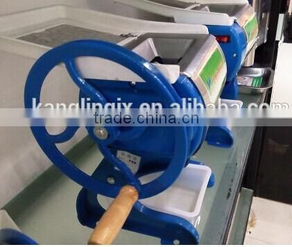manual meat slicing and shredding machine