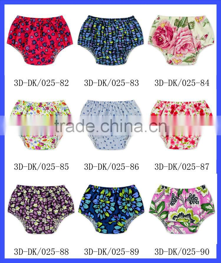 Boutique Infant Girl Clothes Baby Girl Floral Bloomer For Kids