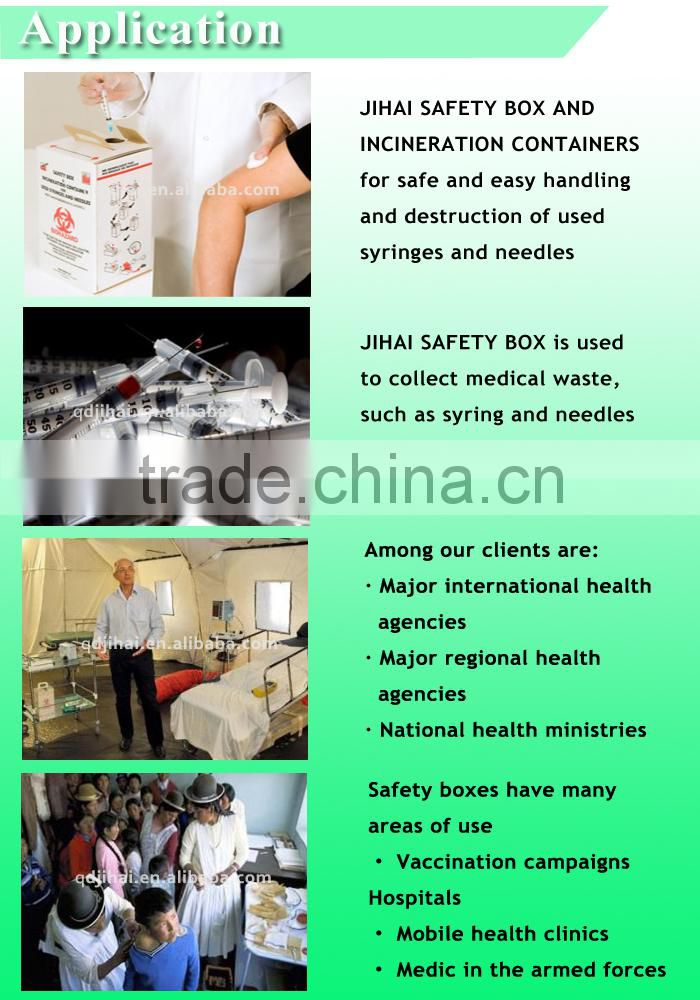 syringe manufacturing machine for waste container