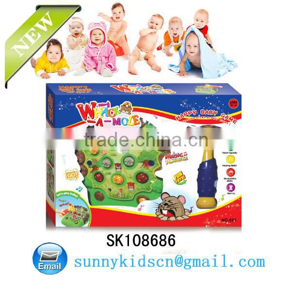 Hot selling Plastic Baby Games plastic Hammer Table Game For Kids