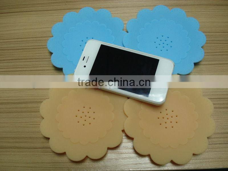 hot sale graceful fish shape silicone soap mat/pad for baby