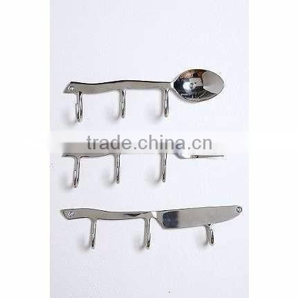 nickel plated home alphabet shiny hangers