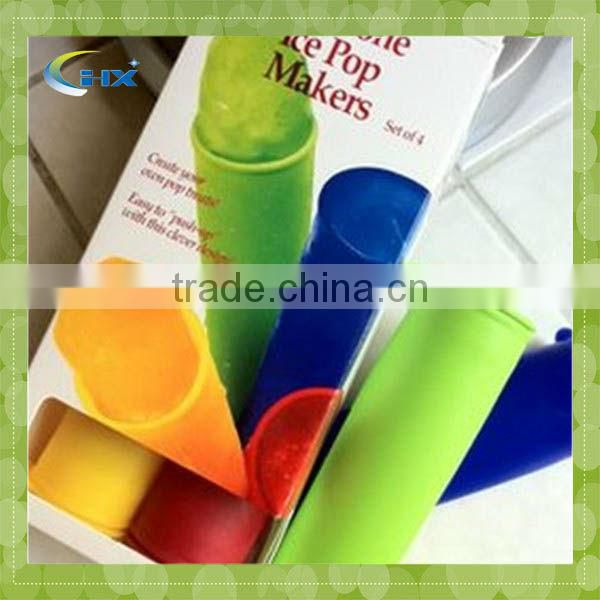 G-Silicone Ice Cream Tool Pop For Popsicle Silicone Ice Pop Mold Mould