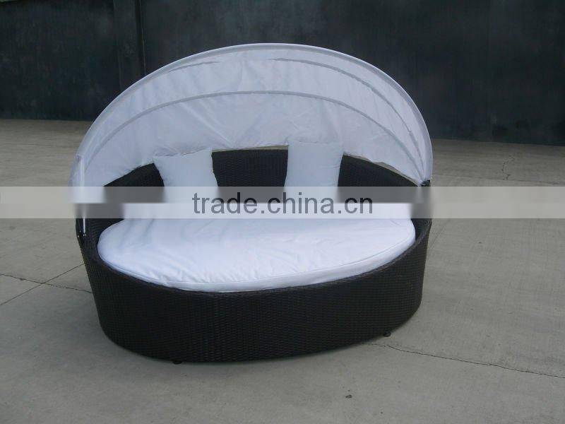 outdoor rattan furniture chaise lounge
