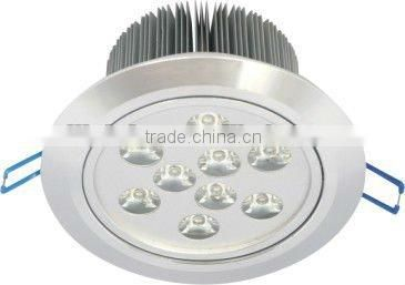 high power high quality 9w indoor solar ceiling light