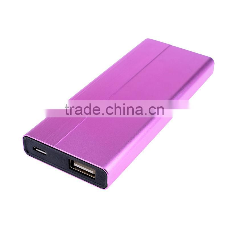 Smartphone movement charger thin portable power bank smartphone portable charger