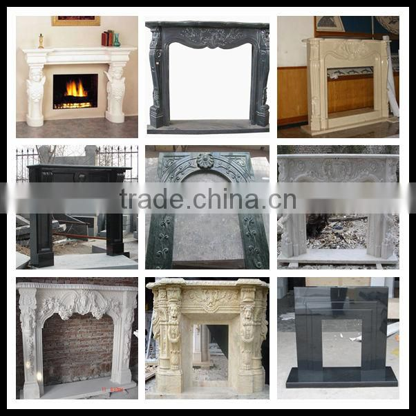 American Style Marble Fireplace Mantel