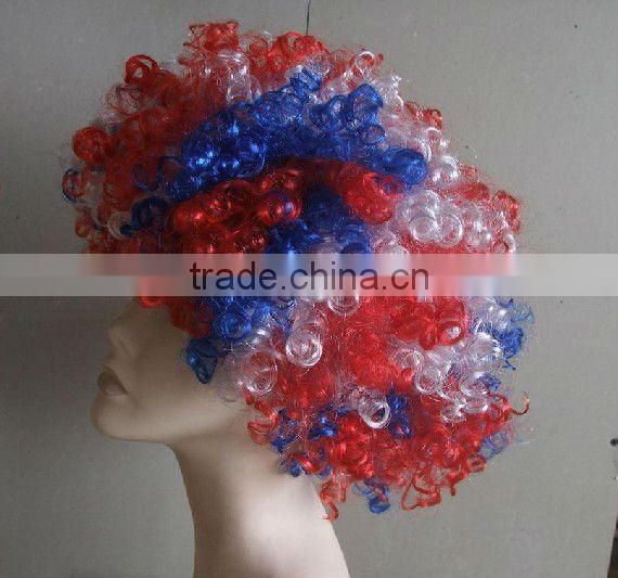 pretty cheap colorful japanese party wig cockscomb wig