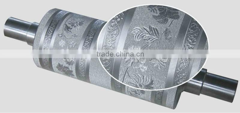 hot fabric embossing roller