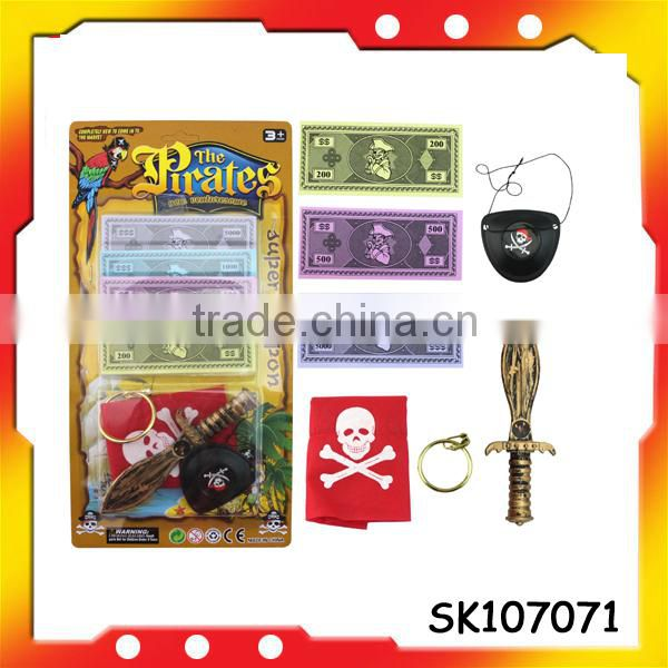 high quality pirate set toys pirate hook for Halloween