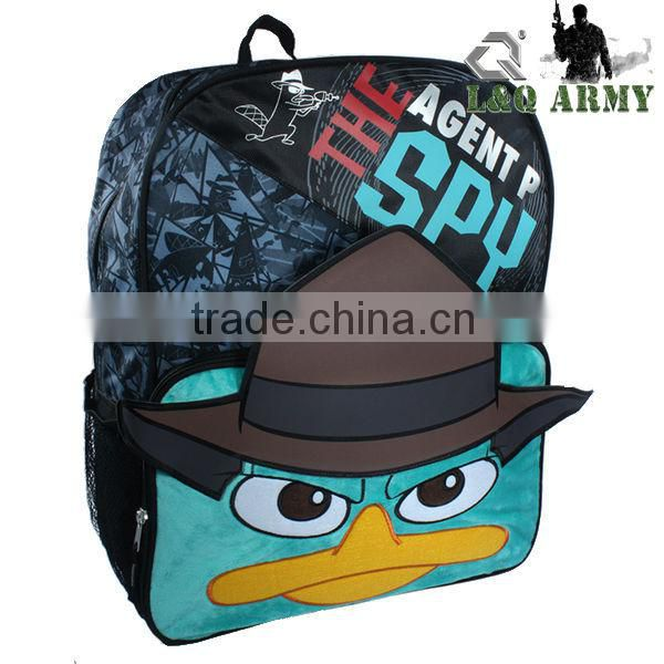 2014 School Bag Sublimation Backpack Cute Backapck for Kids