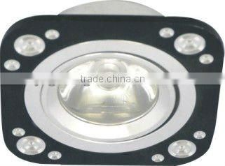 high power high quality 3w square led ceiling light