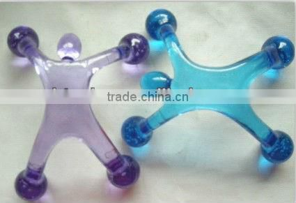 Kid shape plastic body massager as promotion gift